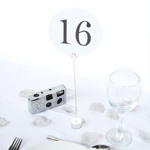 stylish table number holders