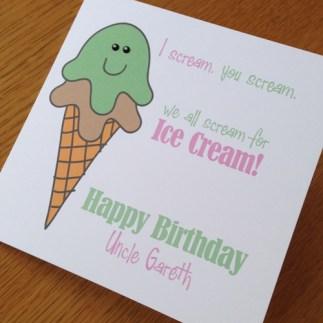 birthday - ice cream