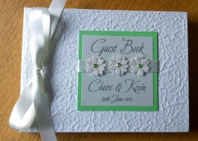Daisy guest book