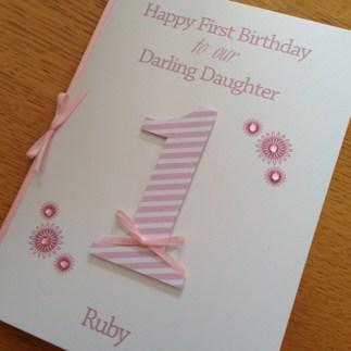 first birthday - daughter/son