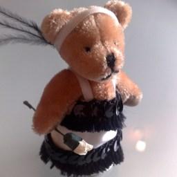 20s Style flapper bear