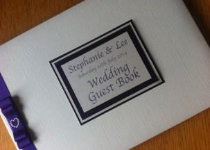 Ritz guest book