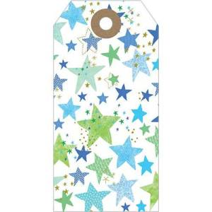 Flamingo Paperie Blue Star Tag Pack