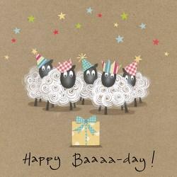 Happy Baaaa-Day Card Design