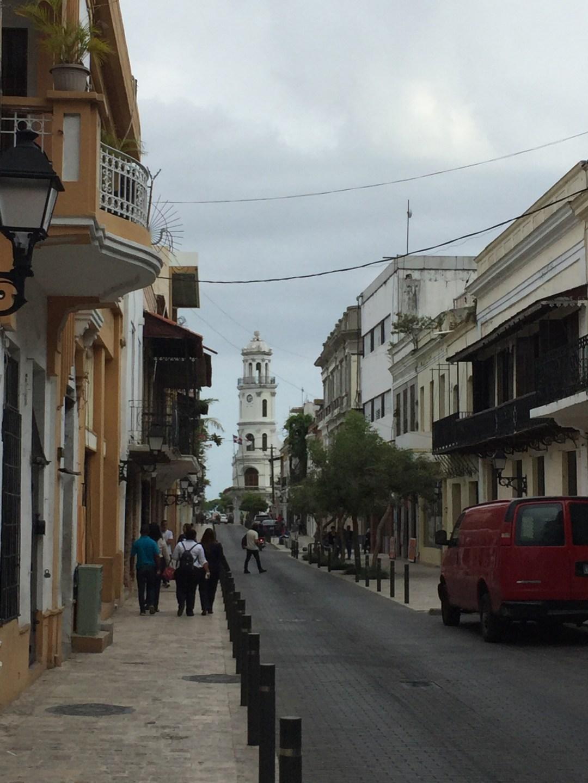 side street in Zona Colonial of Santo Domingo