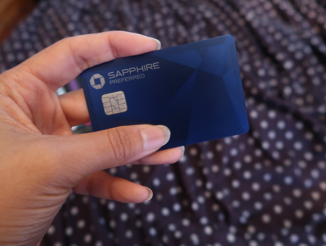 Best Sources of Passive Income: Chase Sapphire Preferred credit card