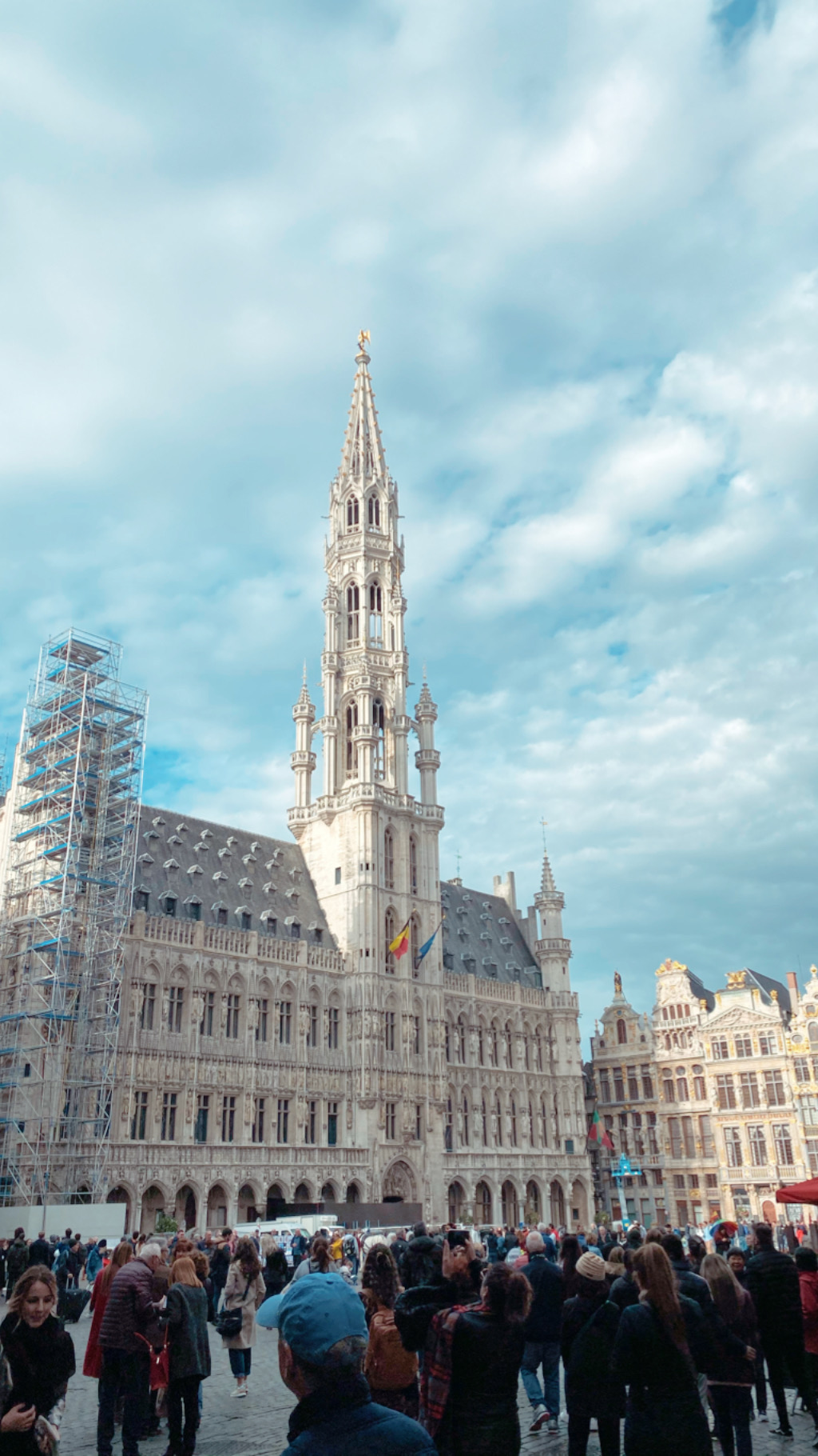 Train Layover in Brussels: Grand Place