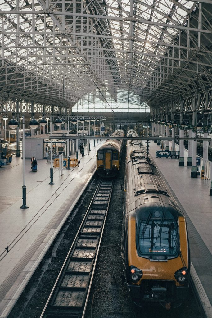 Train Layover in Brussels: train station