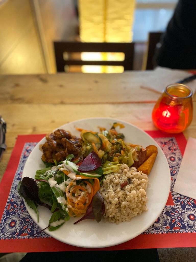 Amsterdam on a Budget: Vegan Plate