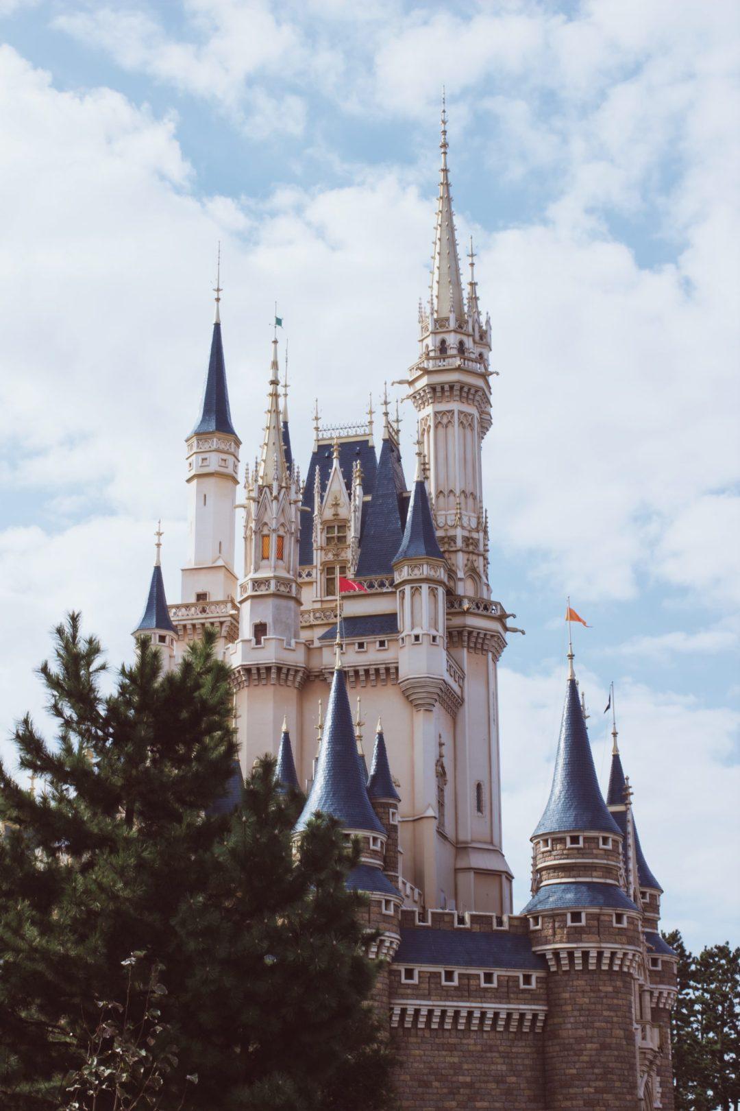 Cinderella's Castle at Disneyland Tokyo