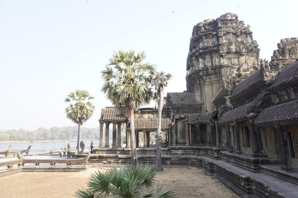 Entry to Angkor Wat, Cambodia