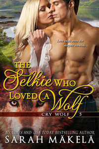 Book Cover: The Selkie Who Loved A Wolf