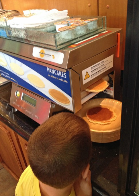 A pancake machine!