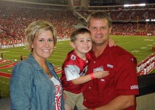Hood Family - Arkansas/A&M Game 2013