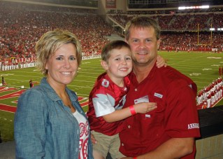 Hood Family - Arkansas/A&M Game 2013