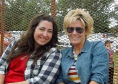 Becky and Sarah | Hayride