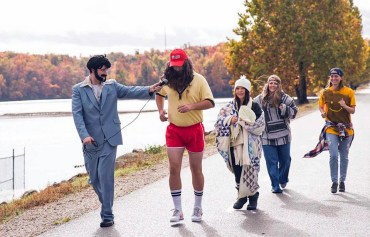 Forrest Gump | Group Costume division (on-location photo at Lake Fayetteville)