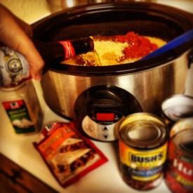Crock-Pot Chicken Taco Soup Recipe