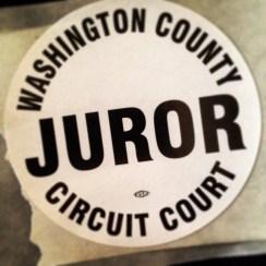 Jury Duty - Life List