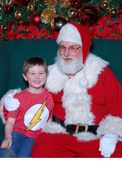 Colt and Santa   Christmas 2014