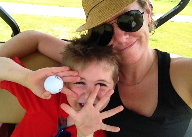 Golf Cart Selfie!
