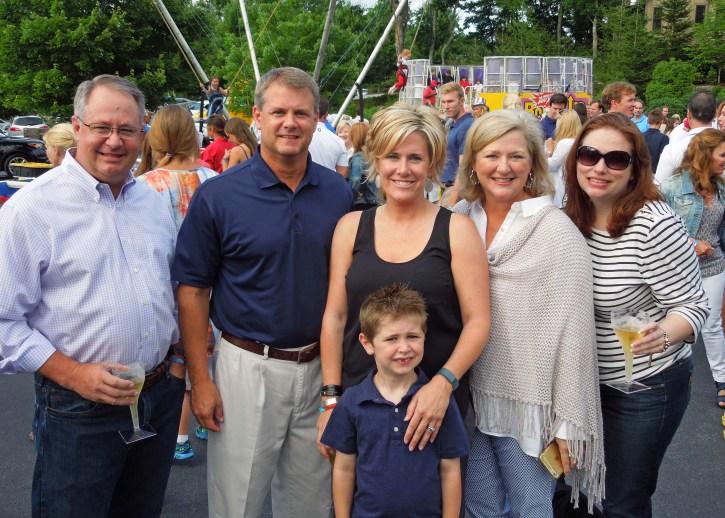 Hoods - July 2015 | Paige, Jeff, Sarah, Lynn, Courtney, and Colt