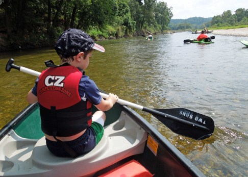 Elk River Float - September 2015