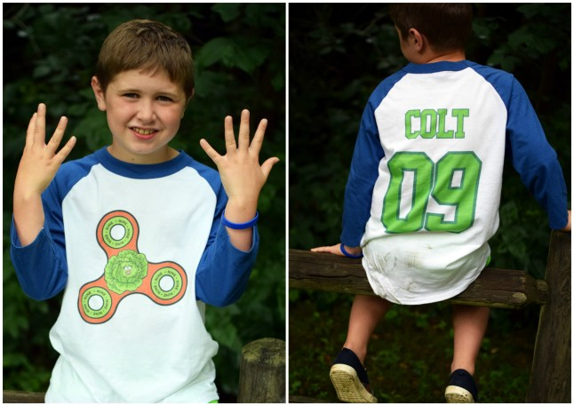 9th birthday shirt_collage