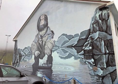 Street art in Heimaey