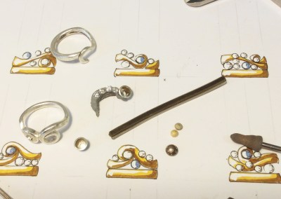 Wendy's Curl Ring – Step 3: Working An Ingot