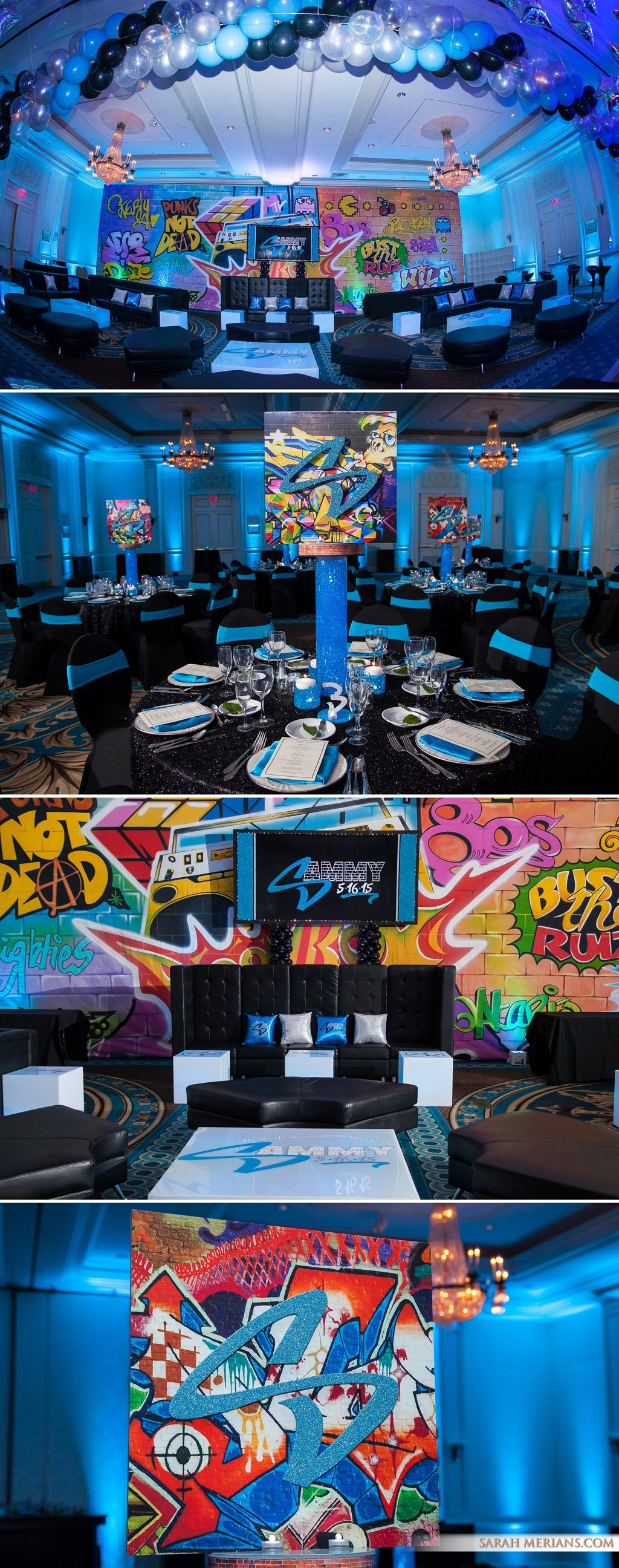 graffiti Bar Mitzvah ideas  Sarah Merians Boutique