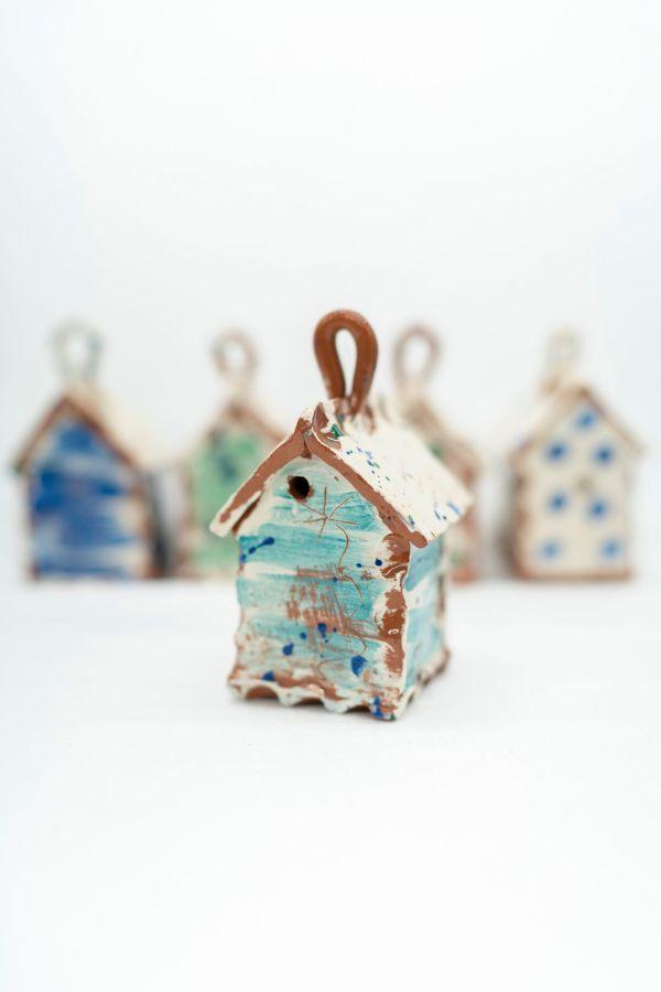 ceramic bug houses by sarah monk studio shot by photographer george nash