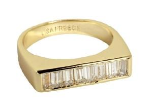 Lisa Freede Baguette ID Ring