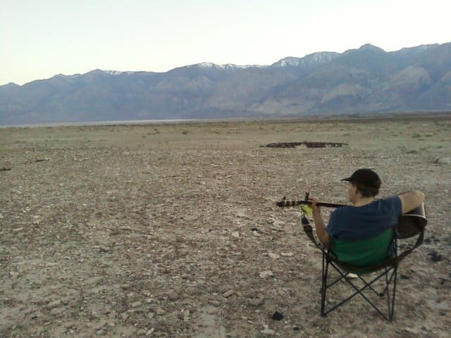 Sara in Saline Valley