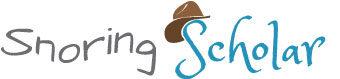 Snoring Scholar.com logo