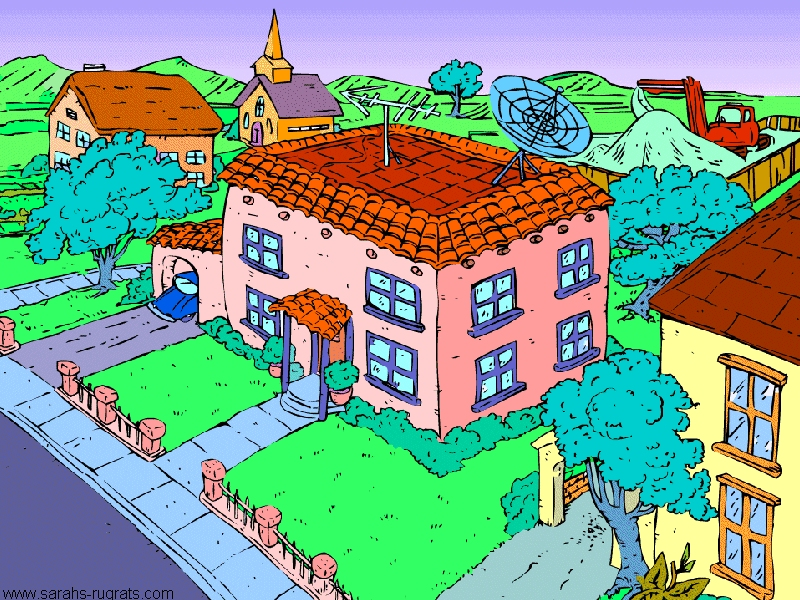 Image result for rugrats house