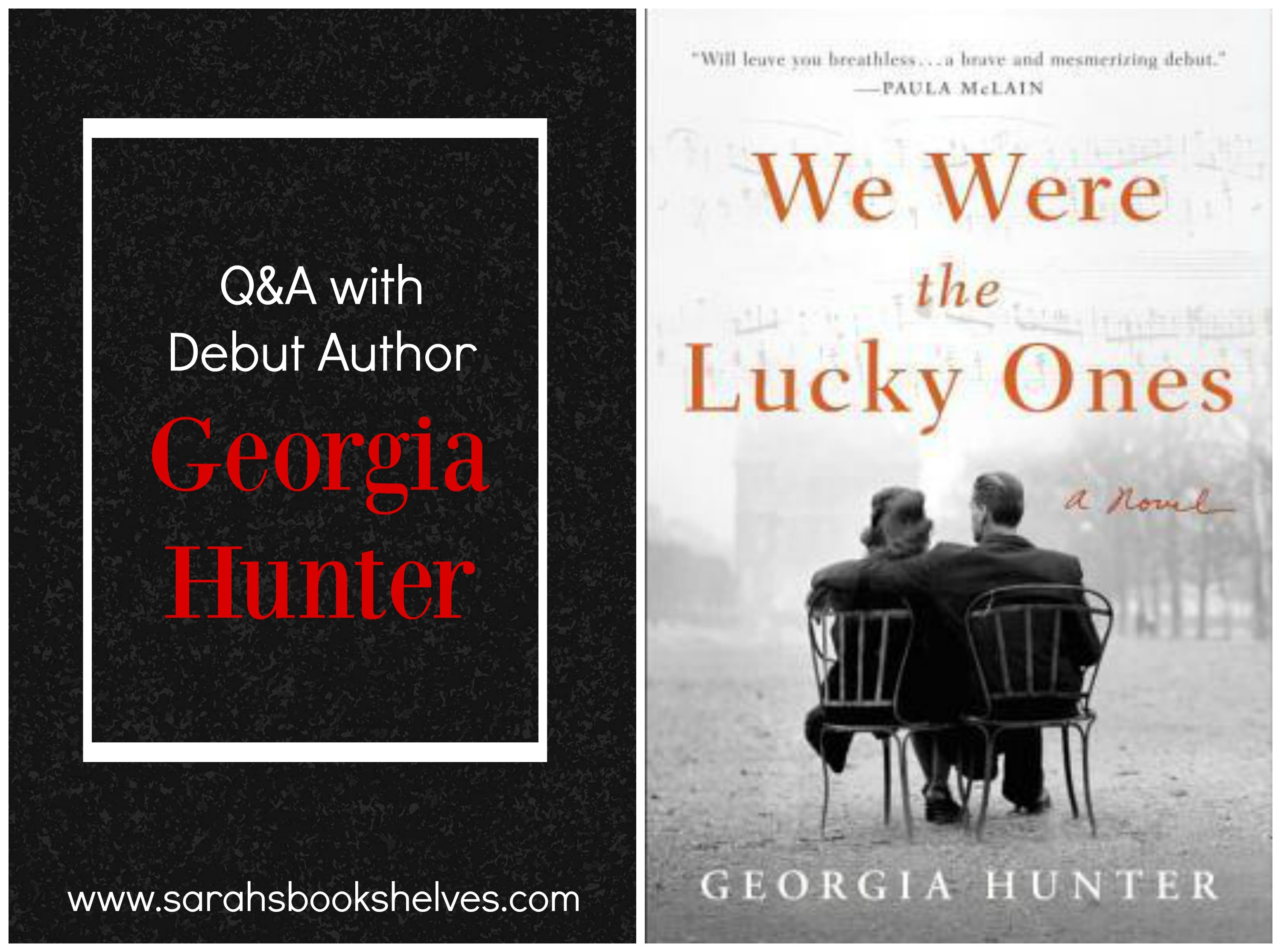 We Were The Lucky Ones QampA With Author Georgia Hunter