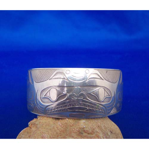 Silver Shark Bracelet by Chris Russ