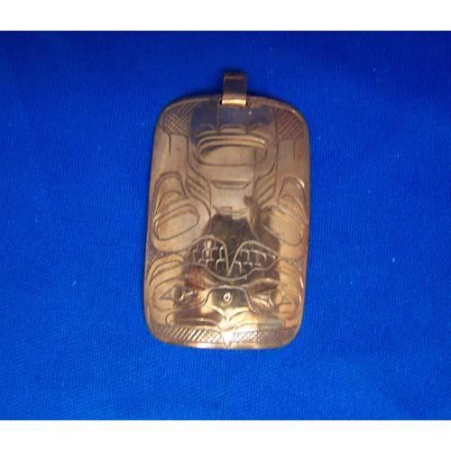 Copper Eagle Pendant by Chris Russ