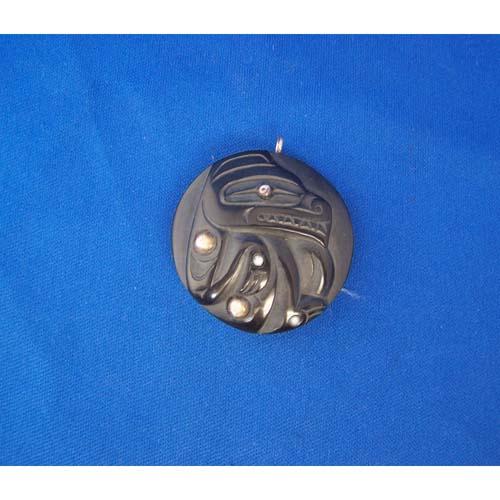 Aragillite Bear Pendant by Cooper Wilosn