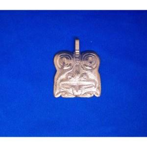 Copper Reprosee Frog Pendant by Derek White