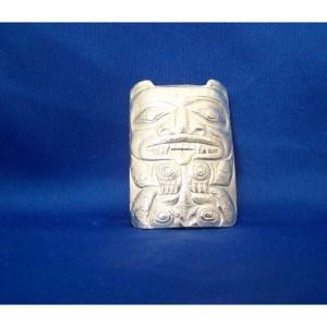 Silver Cast Bear Pendant by Derek White