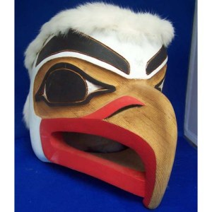 Eagle Wood Mask by Donnie Edenshaw