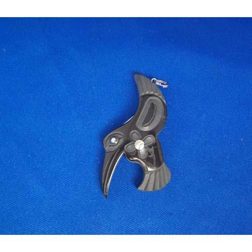 Argillite Hummingbird Pendant by Myles Edgars