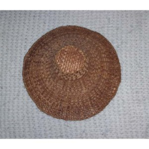 #10 Red Cedar Bark Hat by Dorcas Bell White