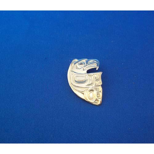 Eagle Silver Pendant by Carmen Goertzen