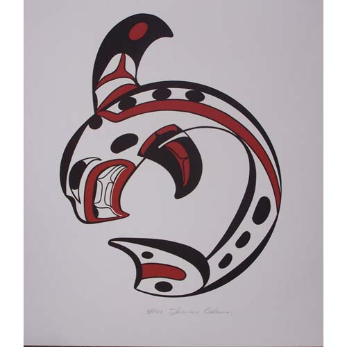 Killer Whale Print by Thomas Adams