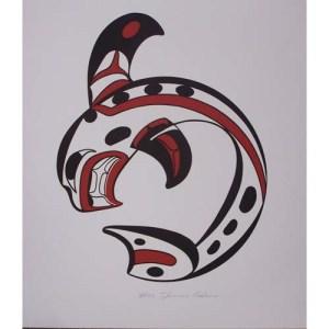Killer Whale Print by Thomas Adams