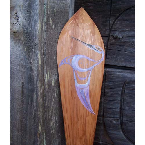 Red Cedar Hummingbird Paddle by Tyler Crosby