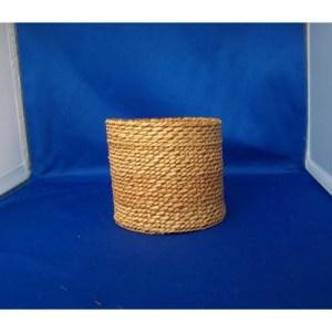 Red & Yellow Cedar Bark Basket by Maxine Edgars